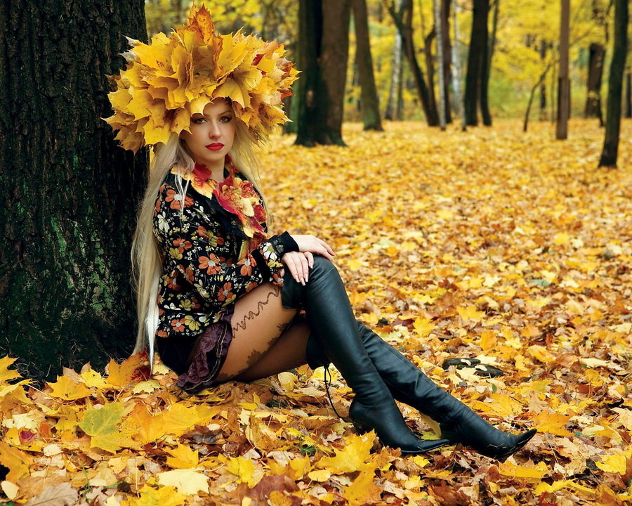 смешные фото осень пришла рады приветствовать вас