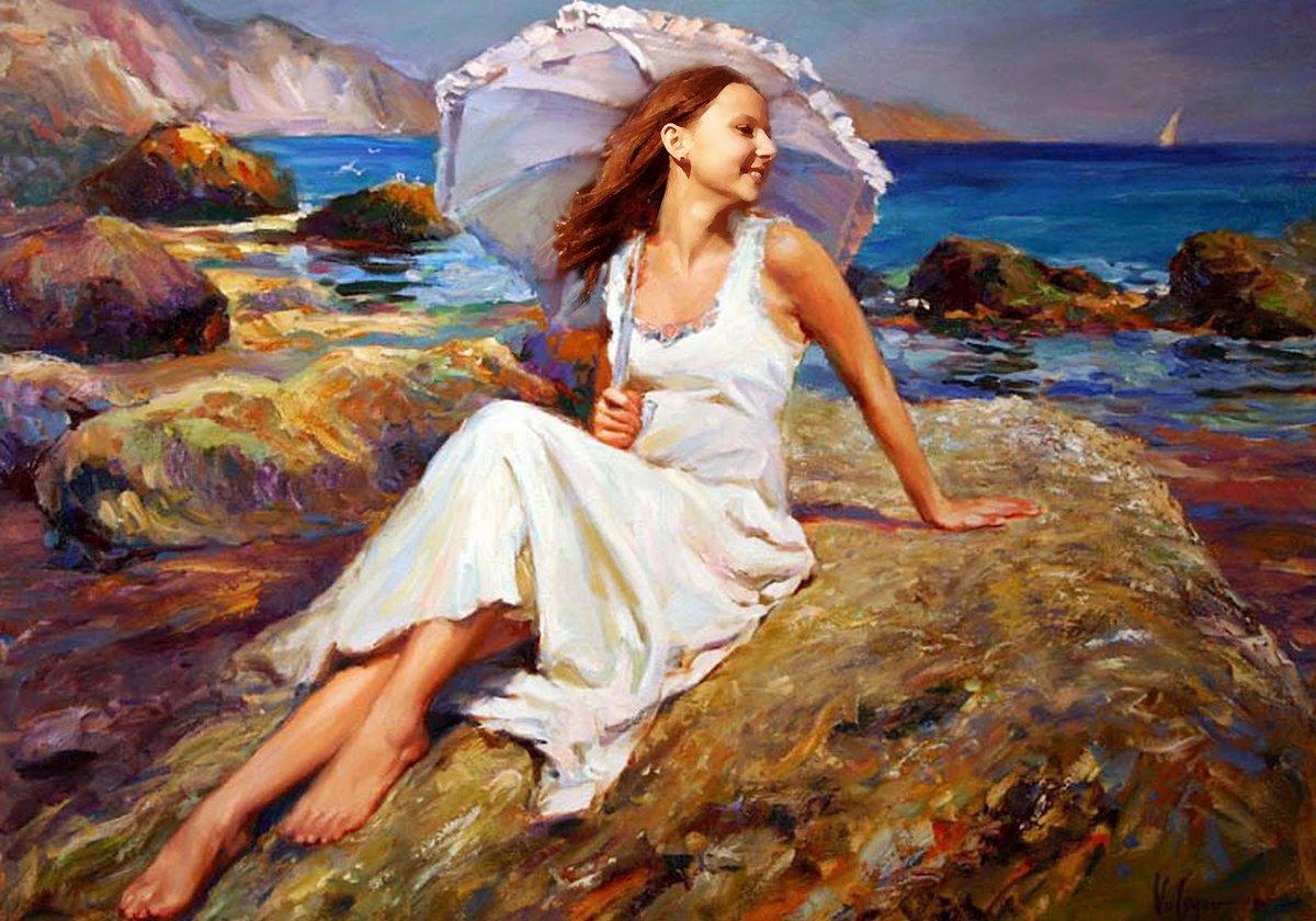 Смотреть картины знаменитых художников рисующих женщин — img 8