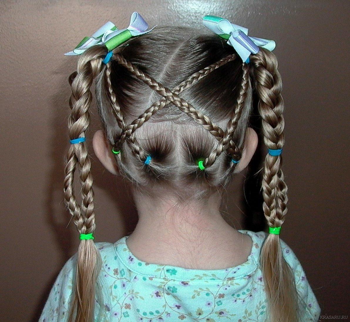 Фото крутых причесок для девочек