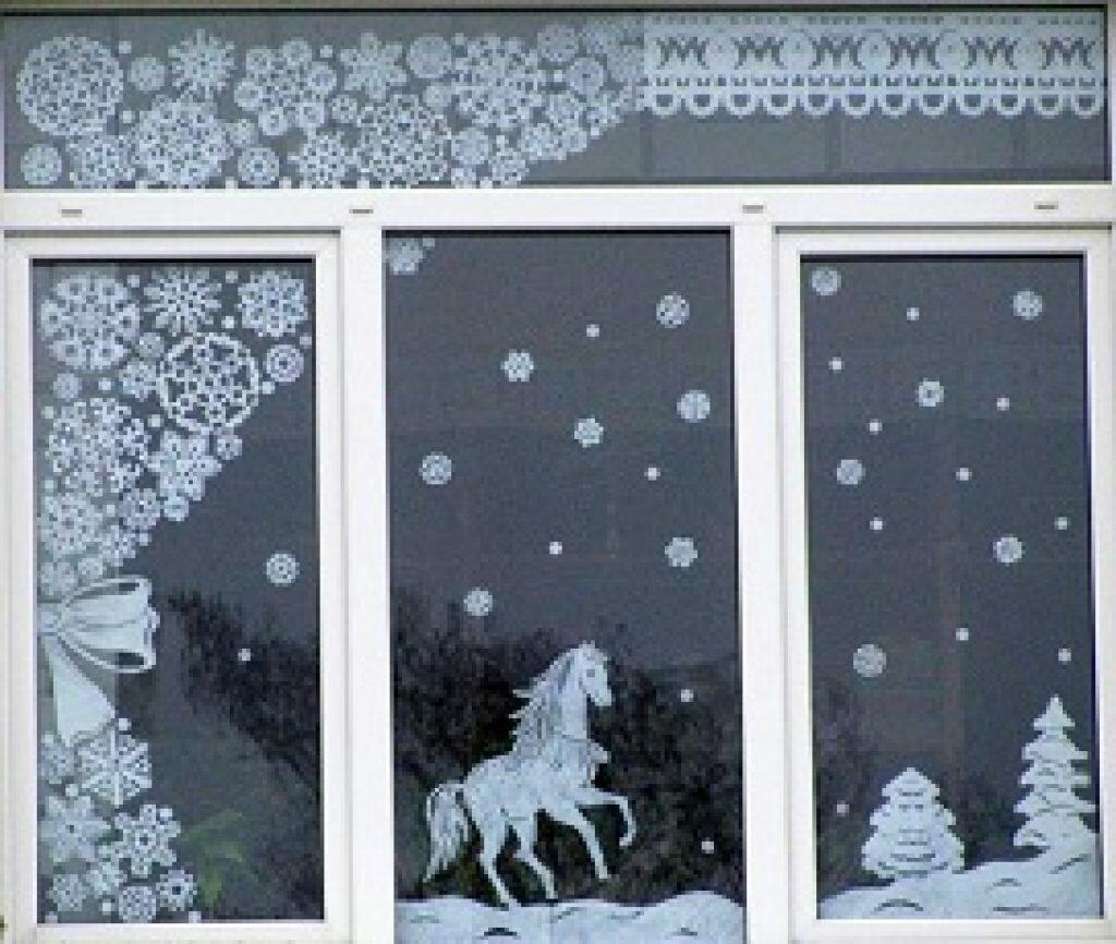 картинки украшенных окон из бумаги популярностью