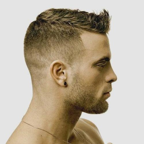 Прическа для жестких волос мужская
