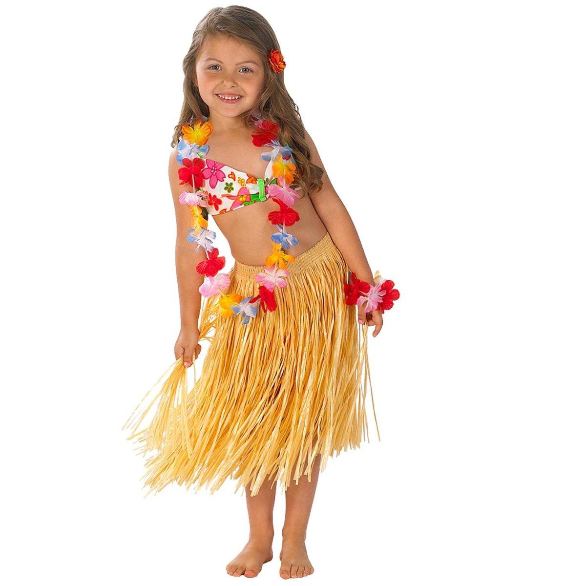 Гавайская юбка своими руками - как сделать? 82