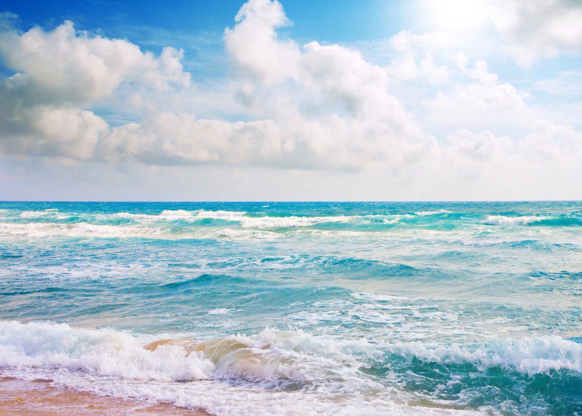 Море красивые картинки анимации, открытки днем рождения