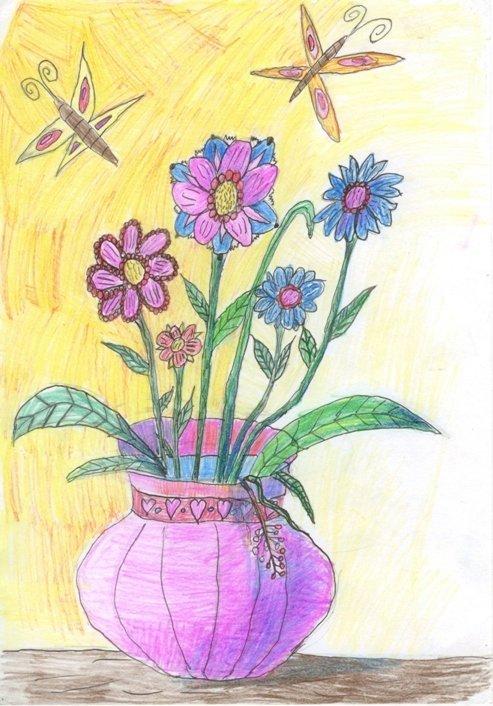 Брату, картинки на тему цветы для мамы