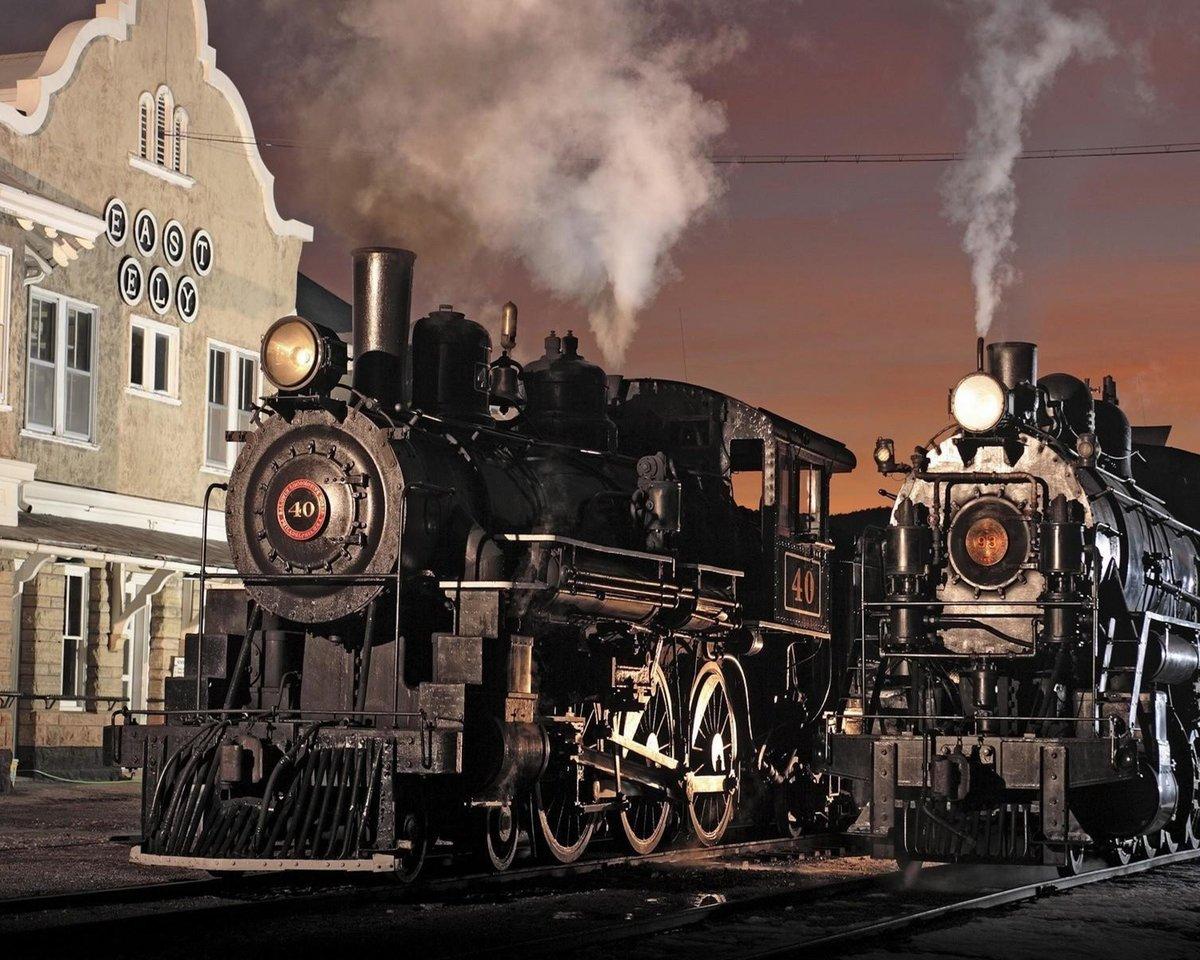 Фотографии старых поездов — pic 15