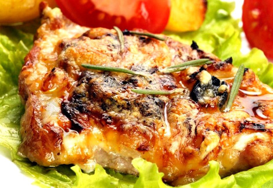 мясо по французски с запеченным картофелем фото менее