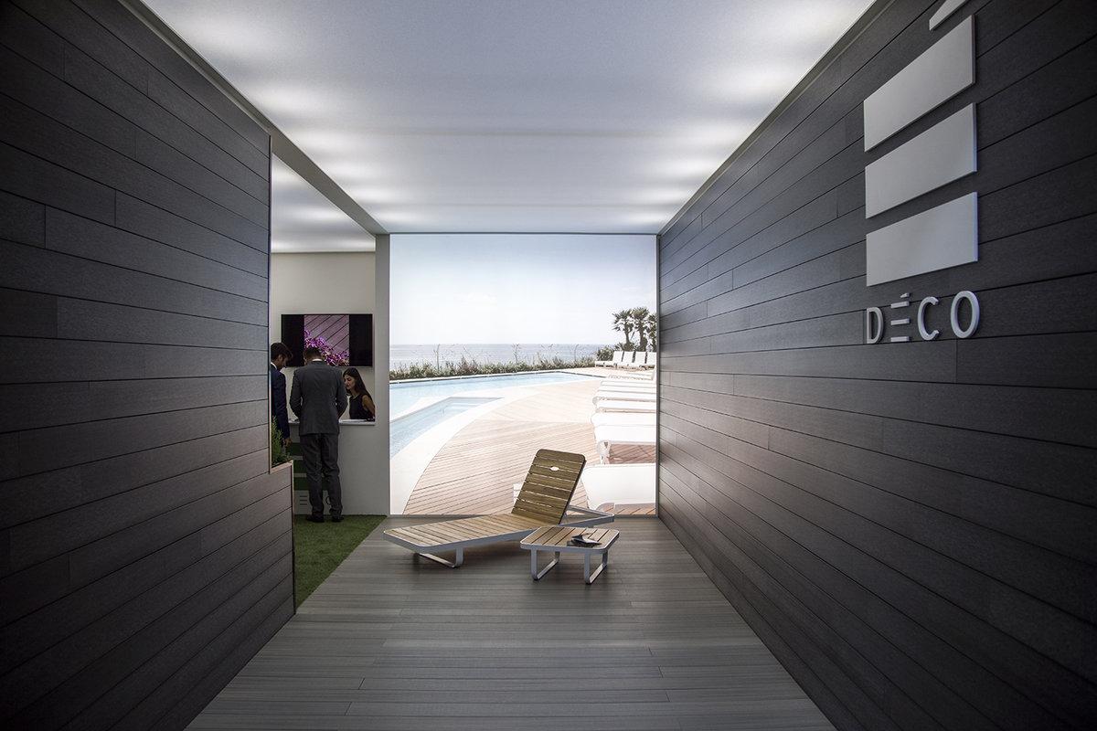 Deco на cersaie современные решения для террас и фасадов