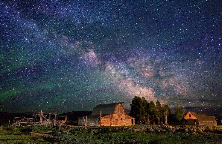 красивые картинки неба ночью