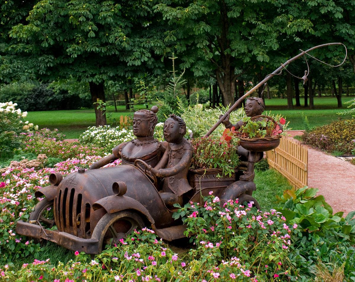 фото необычные скульптуры в парках сам
