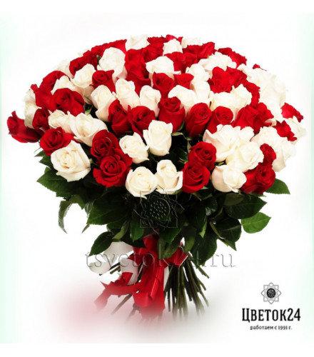 картинки днем 101 роза букет цена красноярск русским