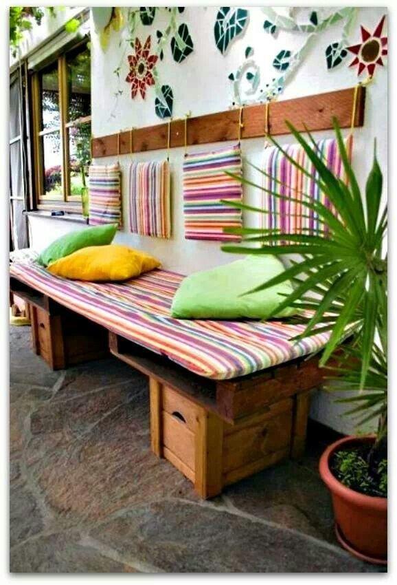 Купить стул с ящиком для балкона. - дешевые окна - каталог с.