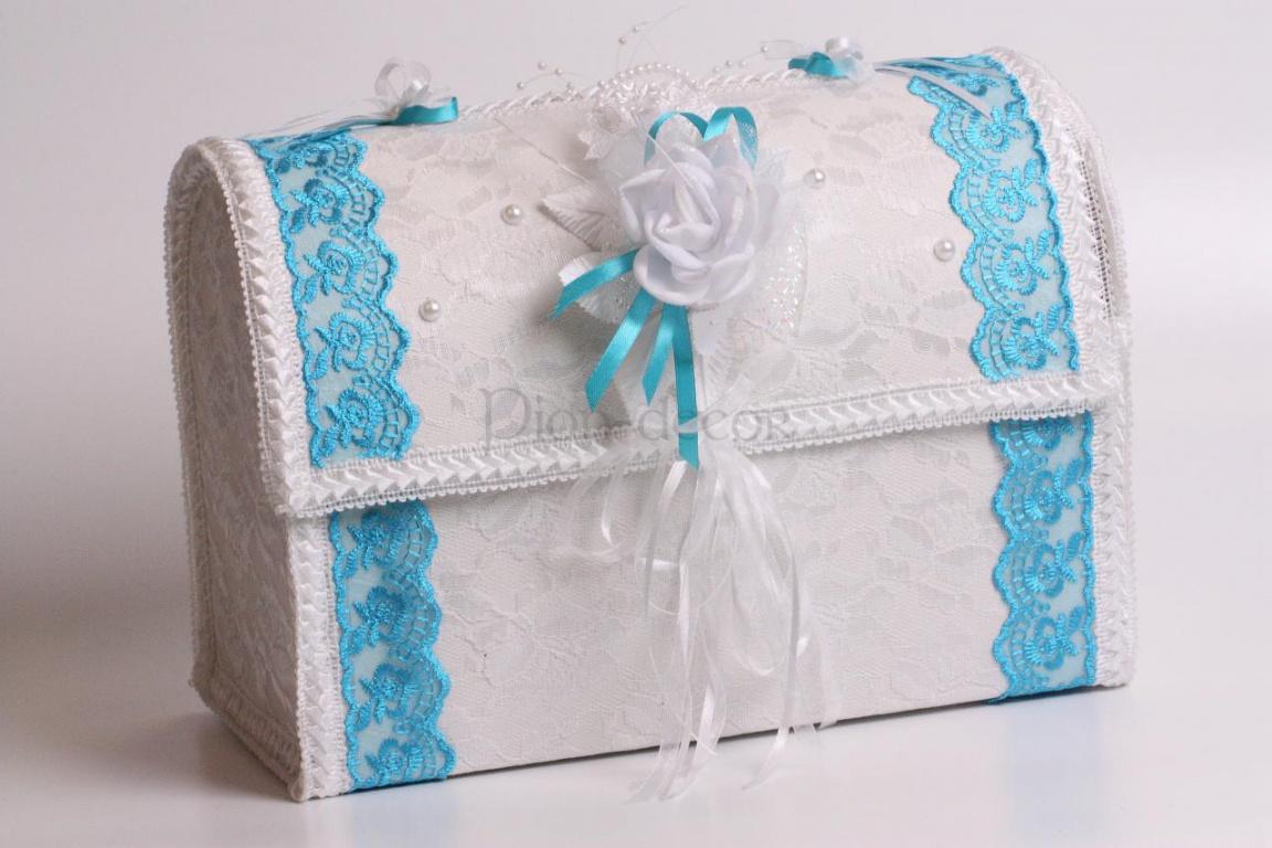Как сделать свадебная коробка для денег своими руками