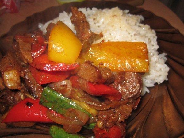 мясо по тайский пошаговый