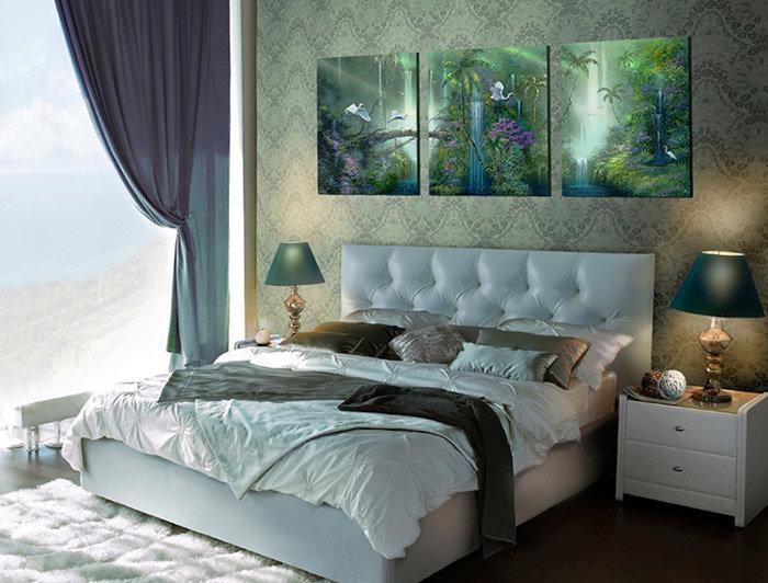 рецепты написаны в спальне над изголовьем кровати лучшие фотообои радоваться