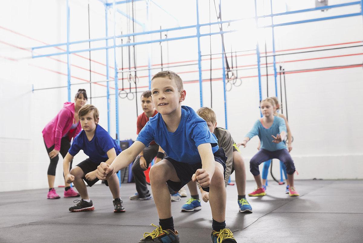 Фитнес для подростков картинка
