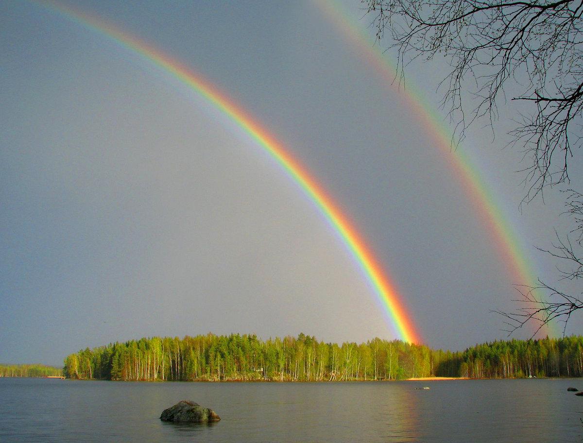 Фотки радуга для начинающих