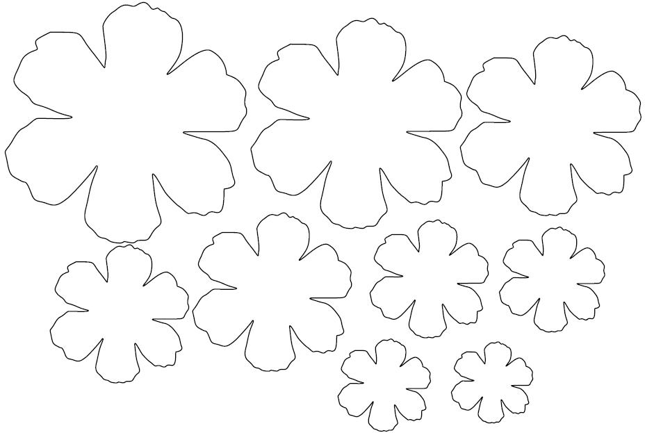 Nett Blumen Vorlagen Zeitgenössisch - Druckbare Malvorlagen ...