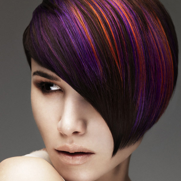 При грамотном подходе и соблюдении технологий колорирование на короткие волосы будет смотреться необычно и роскошно.