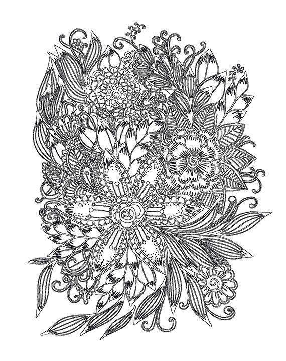 текст картинки цветков из антистресса слову
