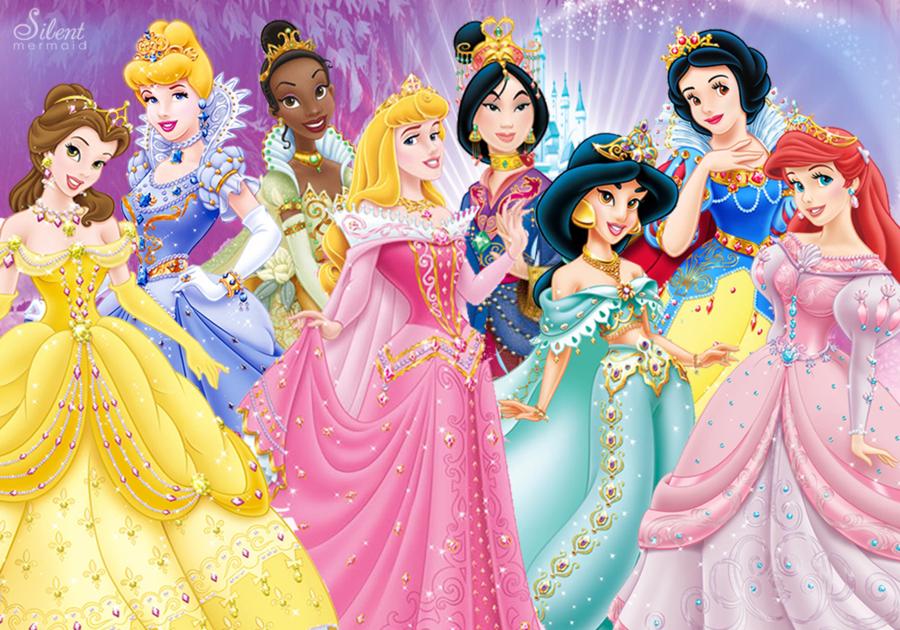 Картинки про принцесс диснея, февраля день