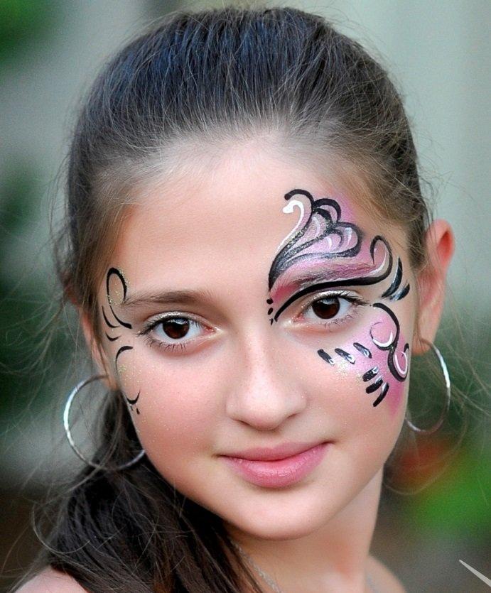 Картинки роспись на лице