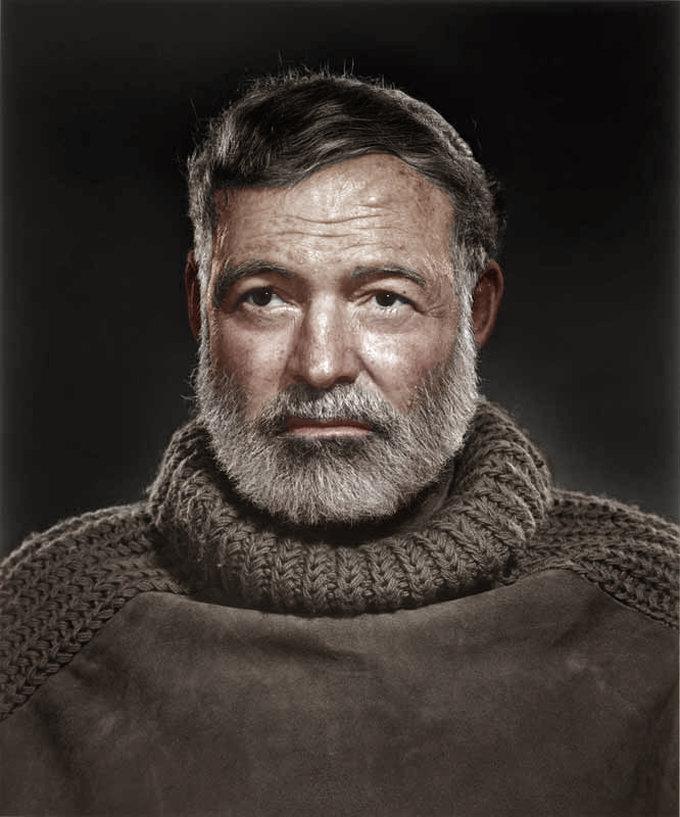кожаной фото хемингуэя с бородой правильно подобрать лечение