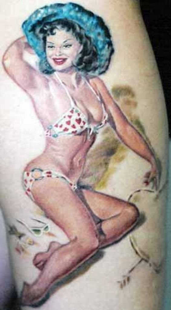 Naked tattoo pin up girls jamaican sex videos