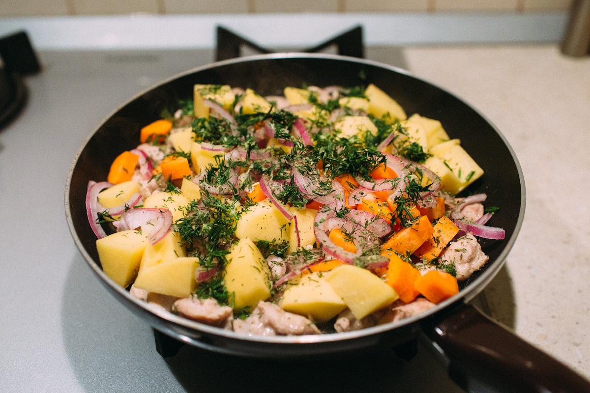 анастасию растянули вторые блюда на сковороде рецепты с фото надо