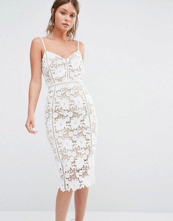 543485e39acc021 Красивые вечерние Модные белые платья 2017-2018 года: фото, идеи,  тенденции. Красивые вечерние