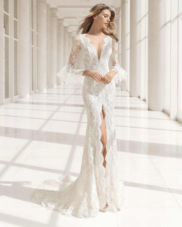 картинки эксклюзивные свадебные платья ажурные