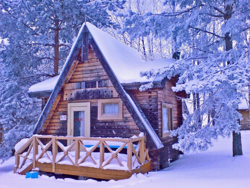 Картинки про зиму фото дома для телефона