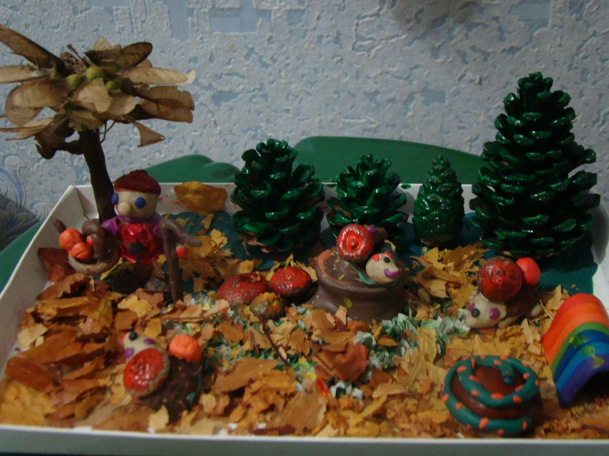 Поделки осенние в детский сад фото своими
