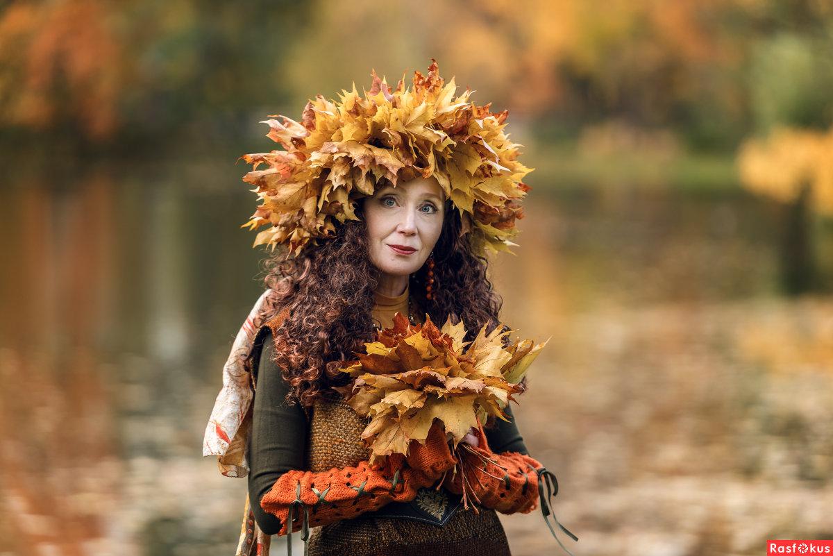 вас красивые осенние фотопортреты графиня вырастает