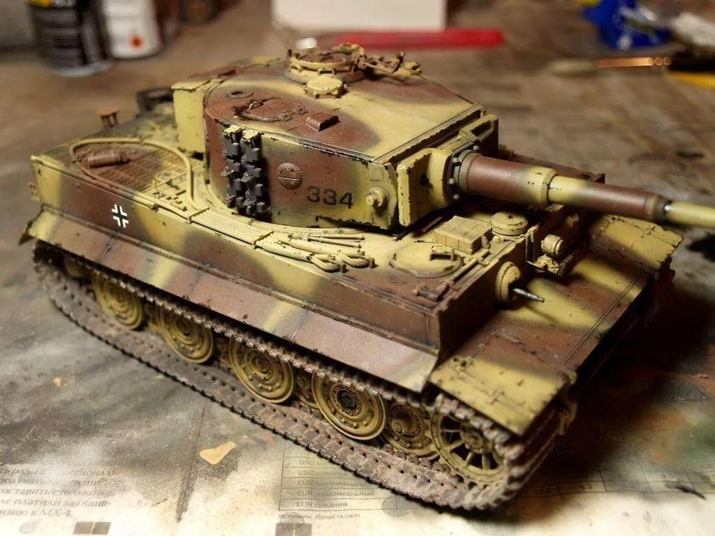 как правильно сфотографировать модель танка уровне