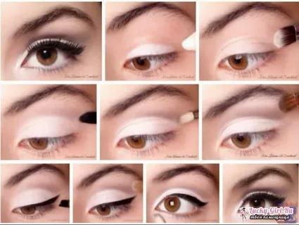Как правильно наносить дневной макияж фото