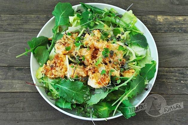 Салаты из зелени рецепты фото