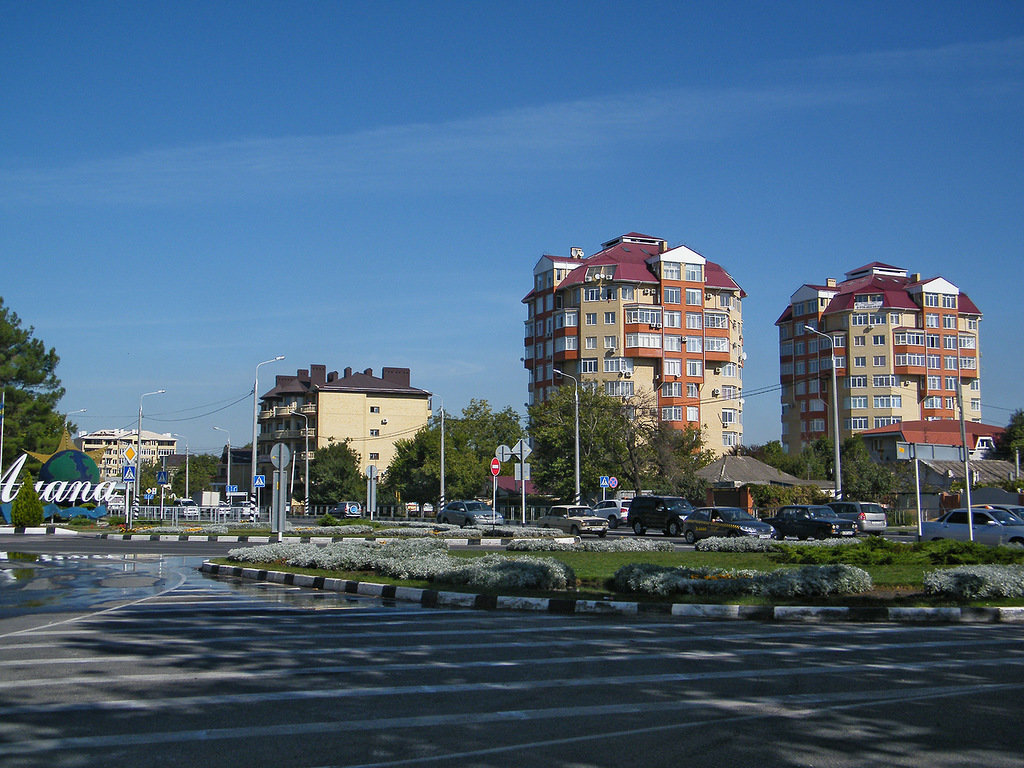 фото улицы мира анапа выложены