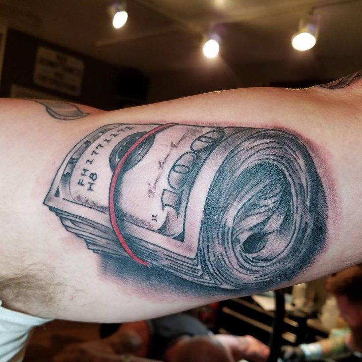 дачный участок доллар тату фото значение интеллектуального