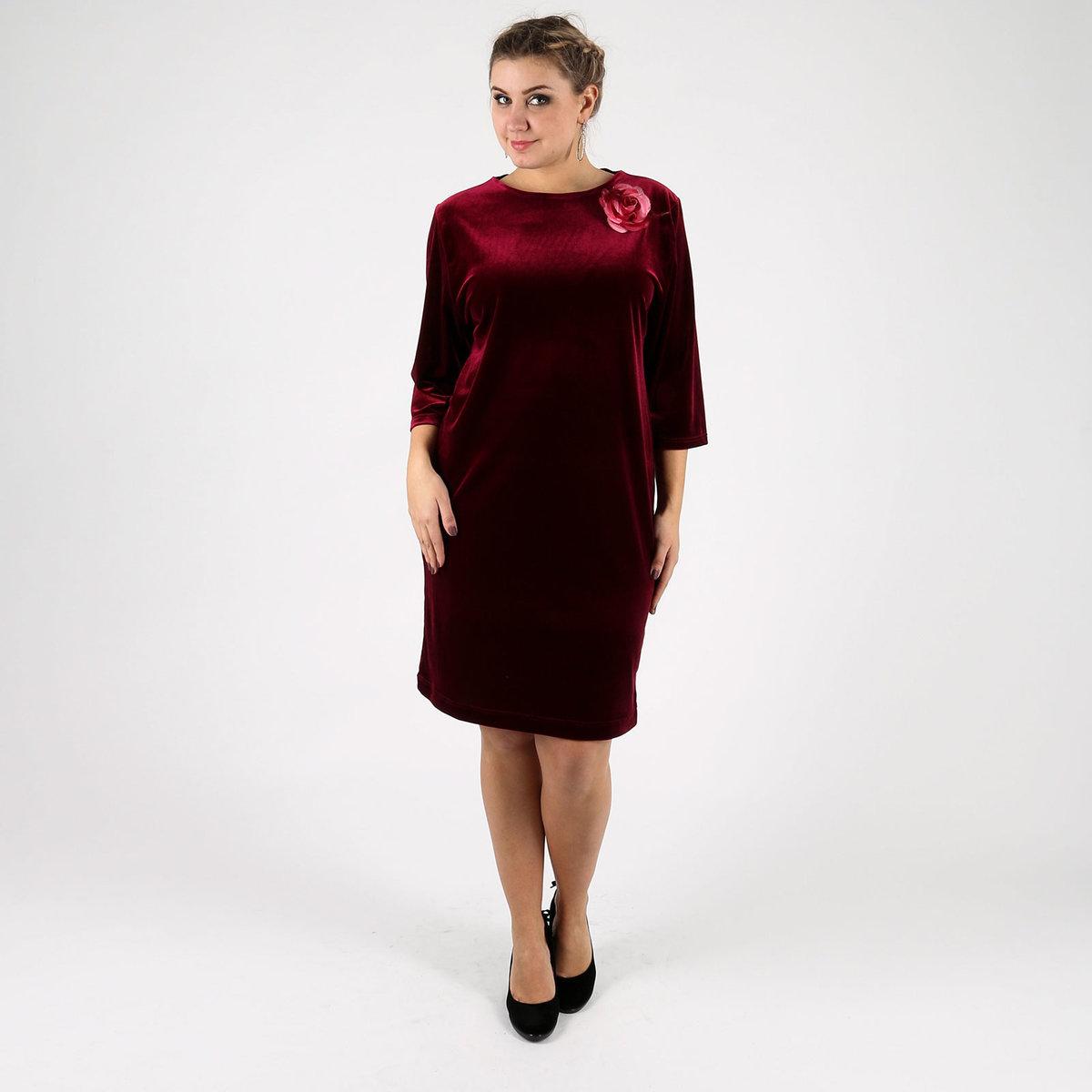 вашему вниманию велюровые платья фото для полных стандарту самая последняя