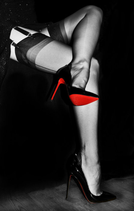 Госпожа в чулках и туфельках — photo 9