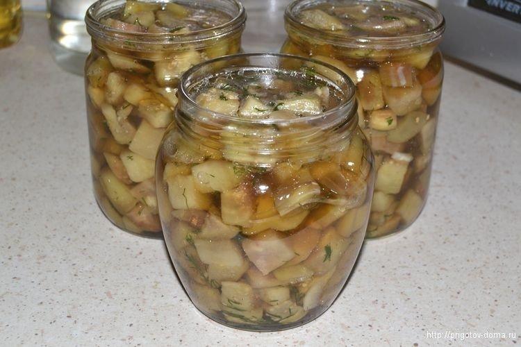 соленья из баклажанов на зиму рецепты с фото