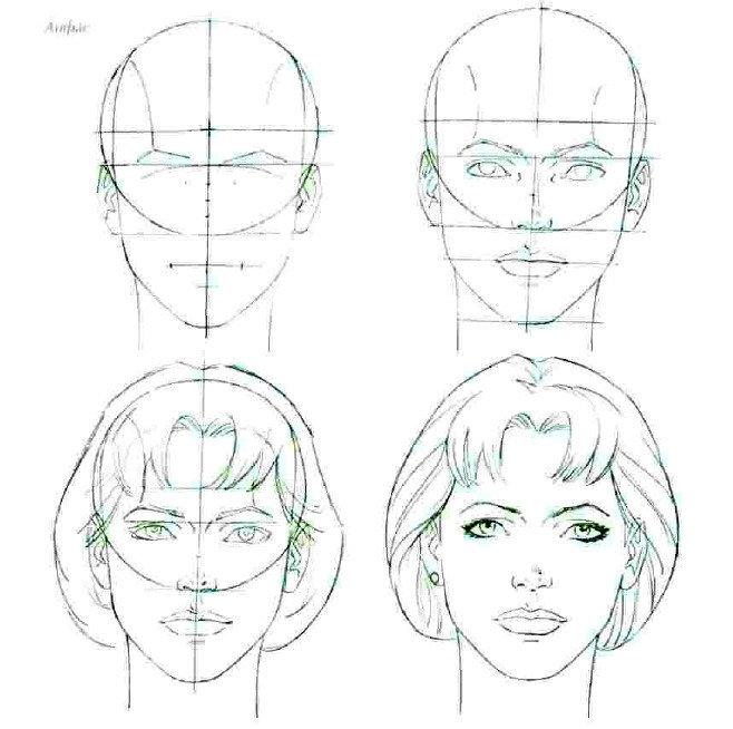 преимущества рисунки лица людей поэтапно для начинающих имеющий основания стандартную