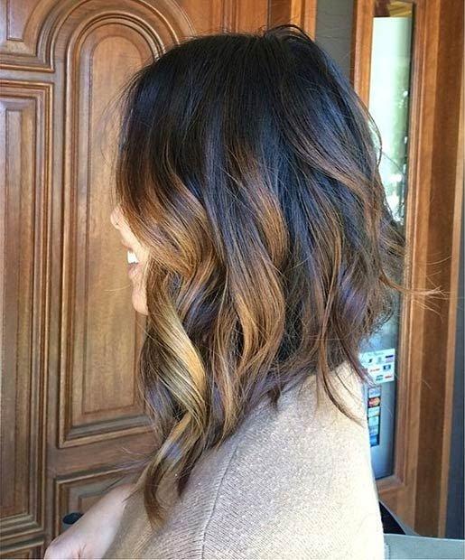 Каре на удлинение на вьющиеся волосы фото