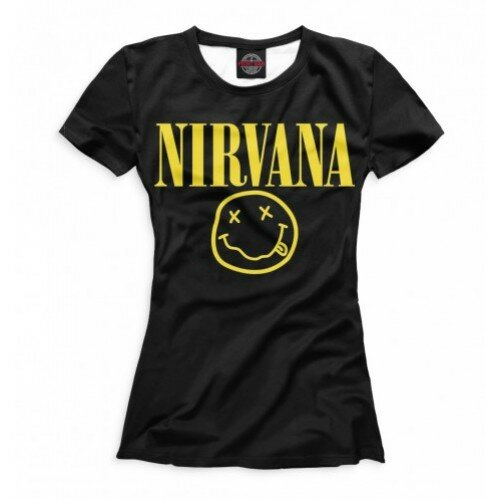 Женская футболка 3D Nirvana
