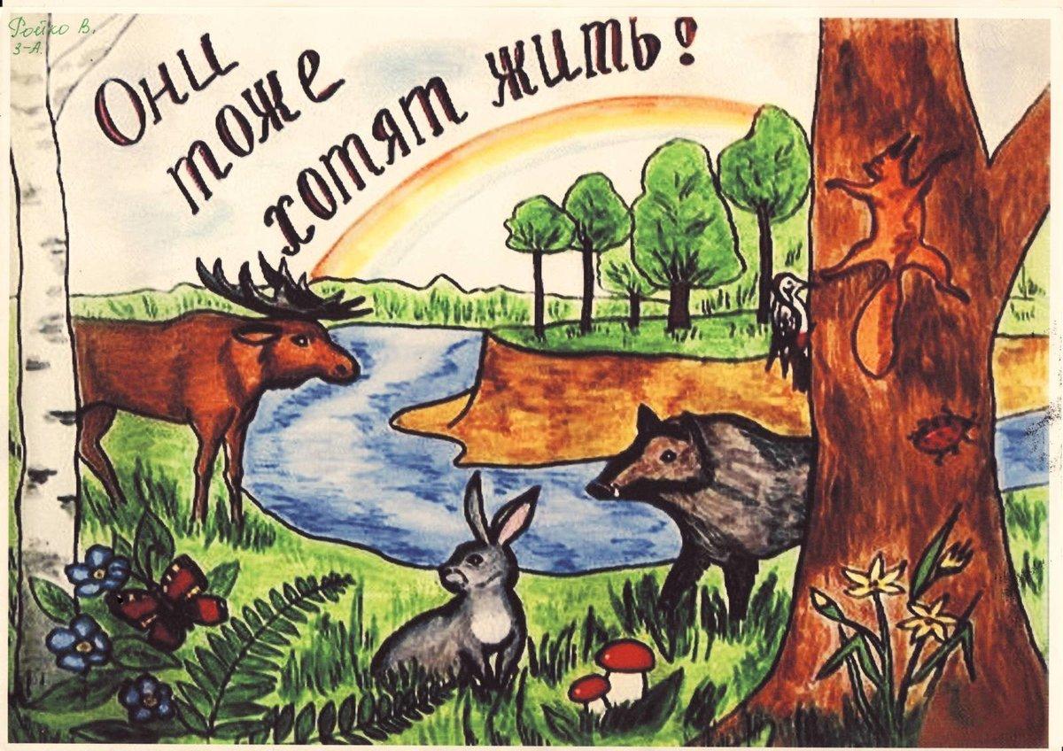 Годовщину, открытка природы мир наш заповедник