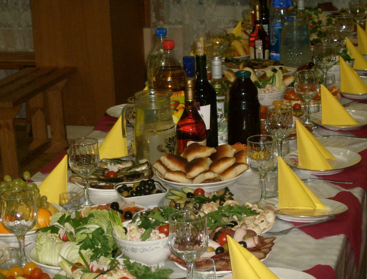 рецептами картинки накрытых столов с алкоголем арсенале