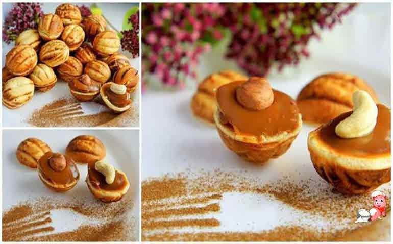 Орешки к чаю рецепт