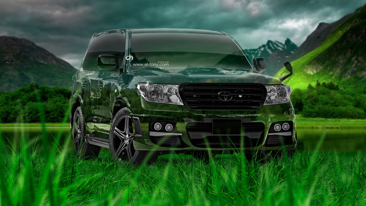 Toyota Land Cruiser 200 Crystal Nature Car 2015