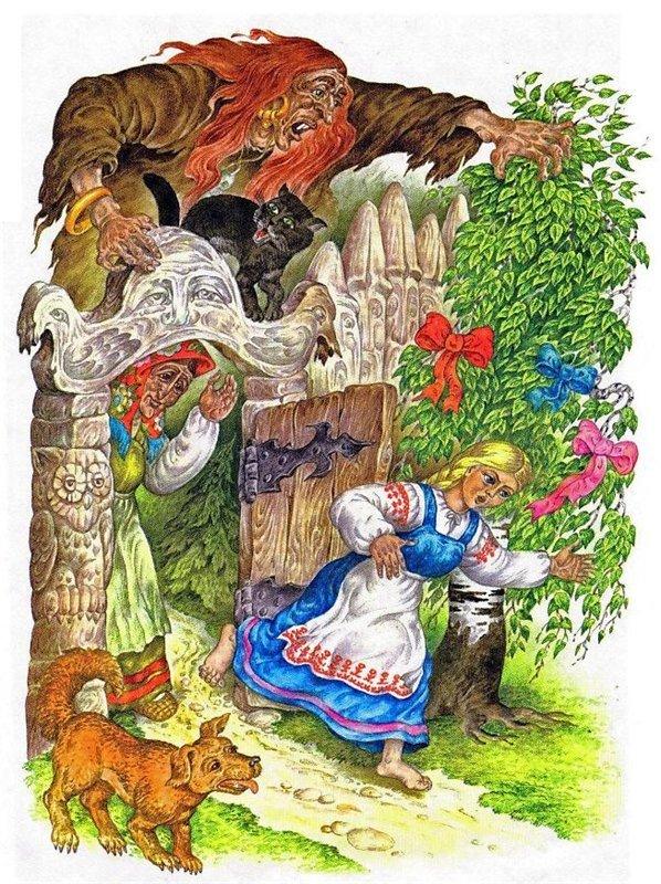 Ковры из сказки царевна лягушка картинка приготовили для