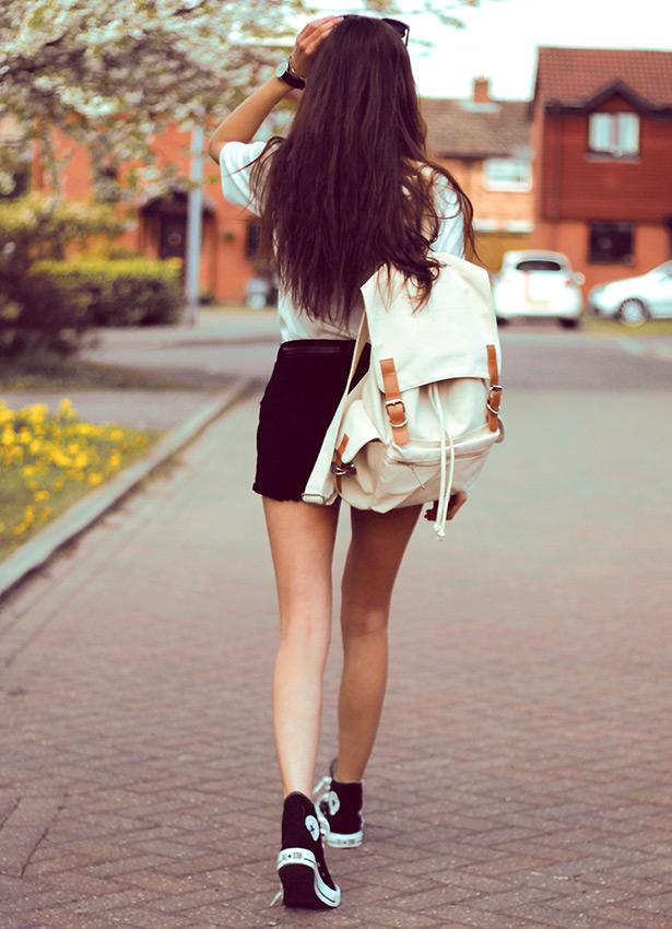 98405c12ad5326e «Красивые городские рюкзаки полюбились модными блогерами и простыми  девушками» — карточка пользователя super.zagrebina2018 в Яндекс.Коллекциях